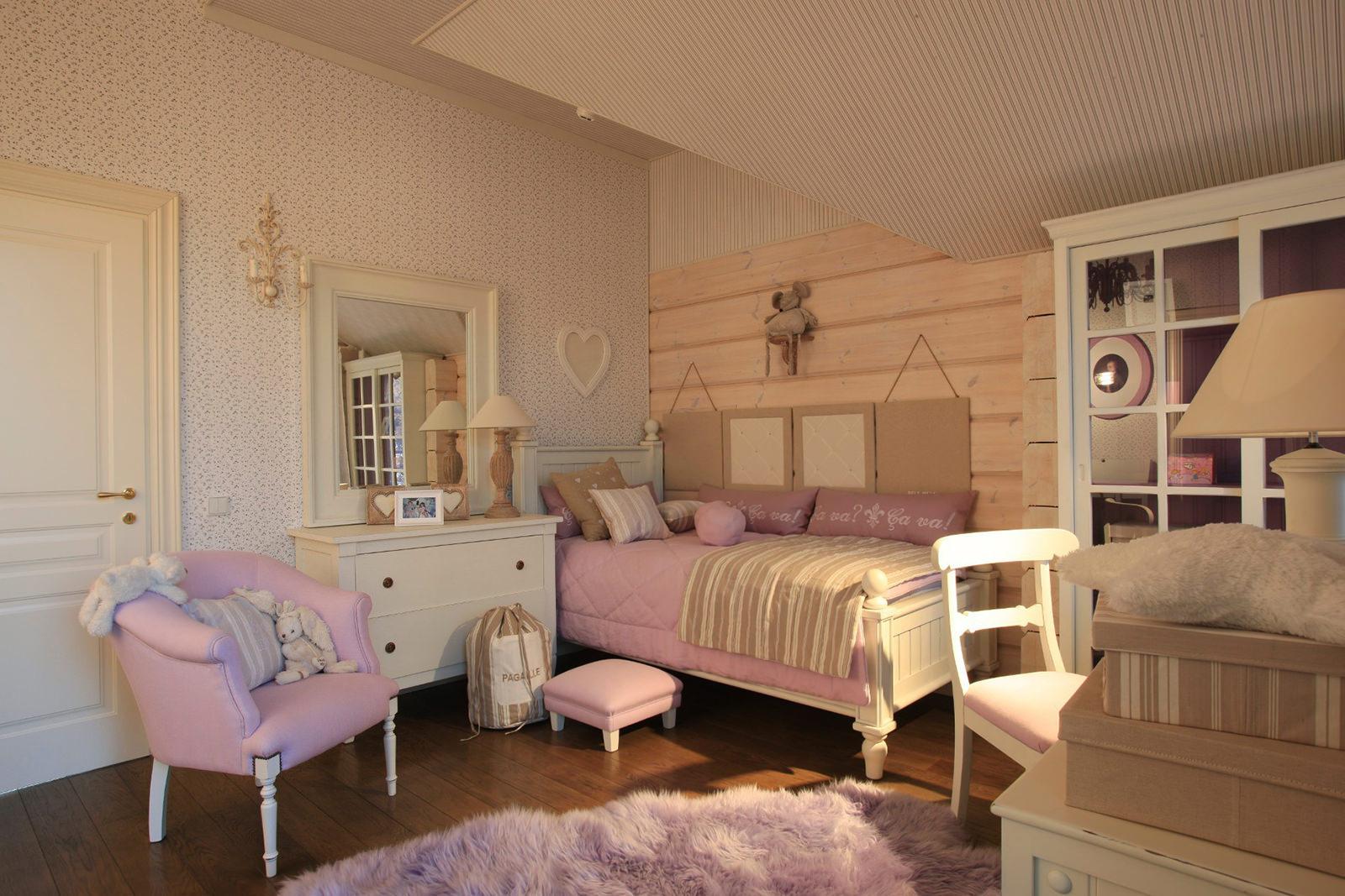 Интерьер детской комнаты в стиле прованс