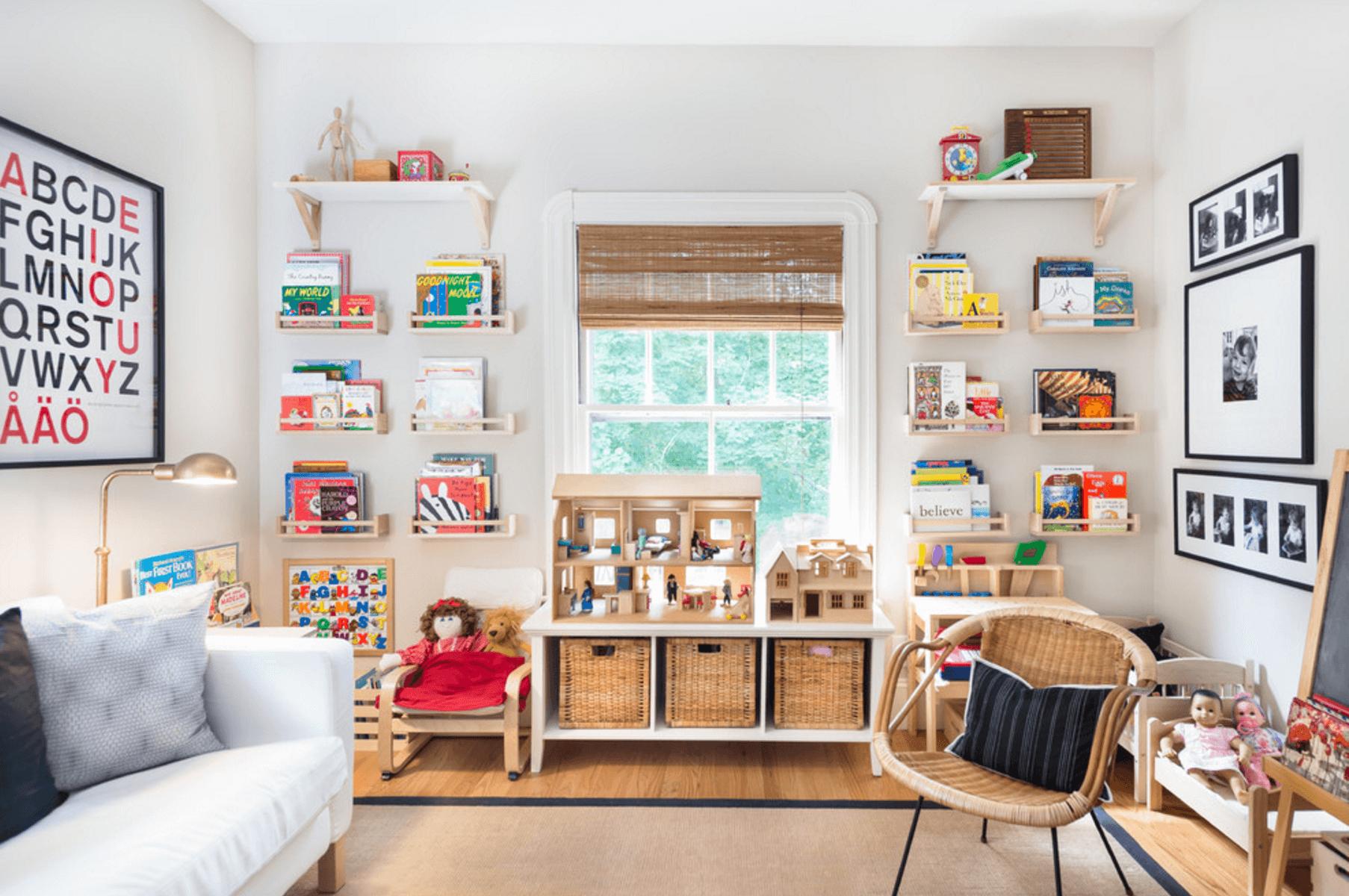 Детская в интерьере однокомнатной квартире