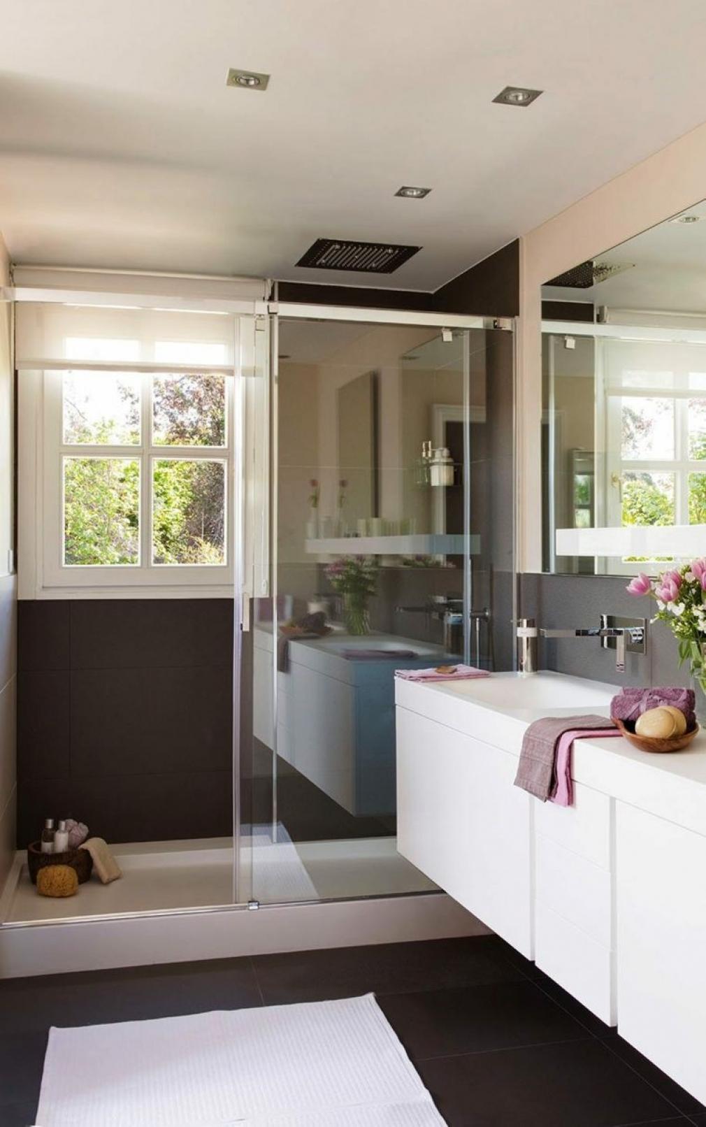 Идеи дизайна маленькой ванной с душевой кабиной