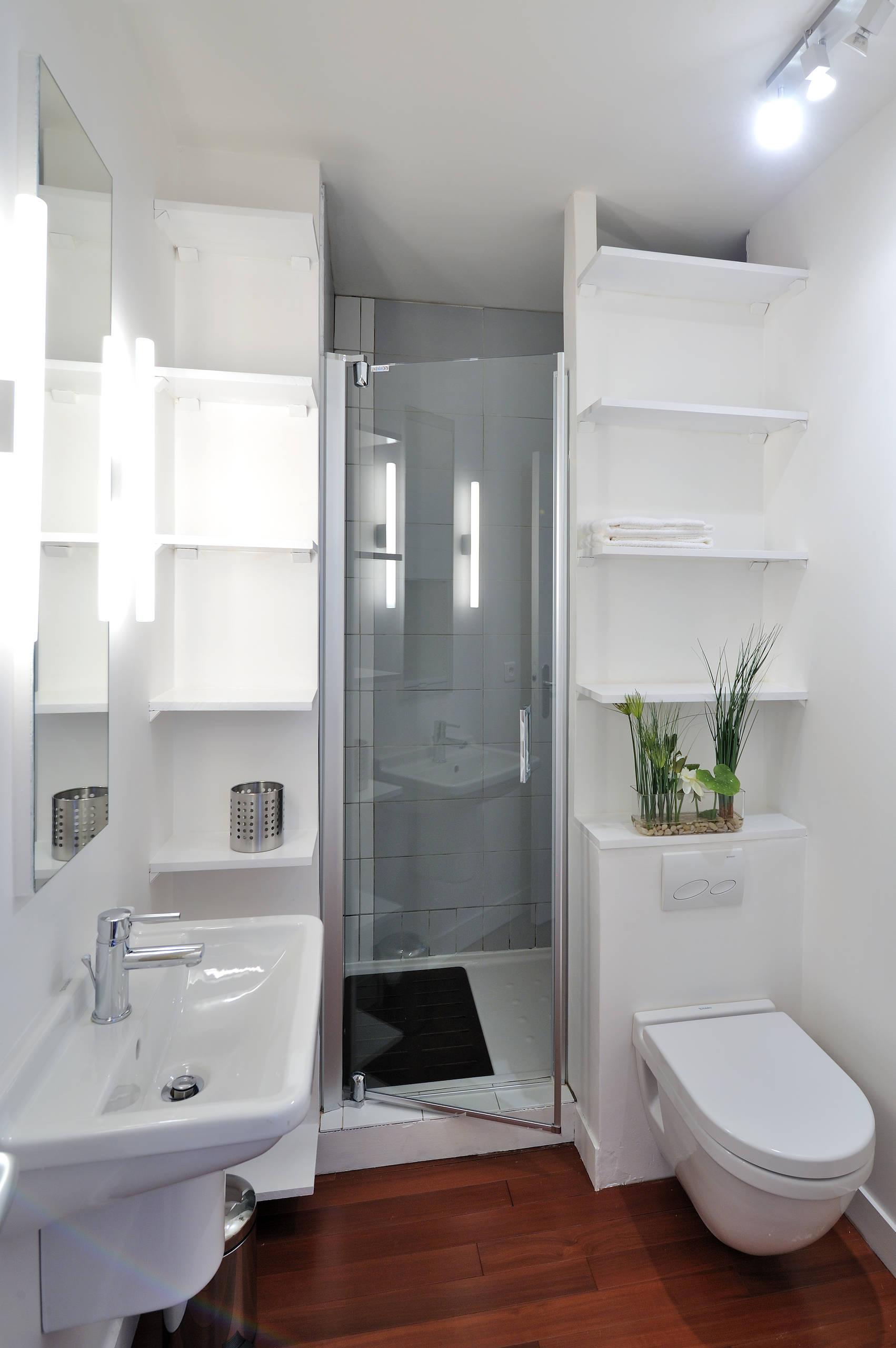 Ванная 4 кв м с душевой кабиной