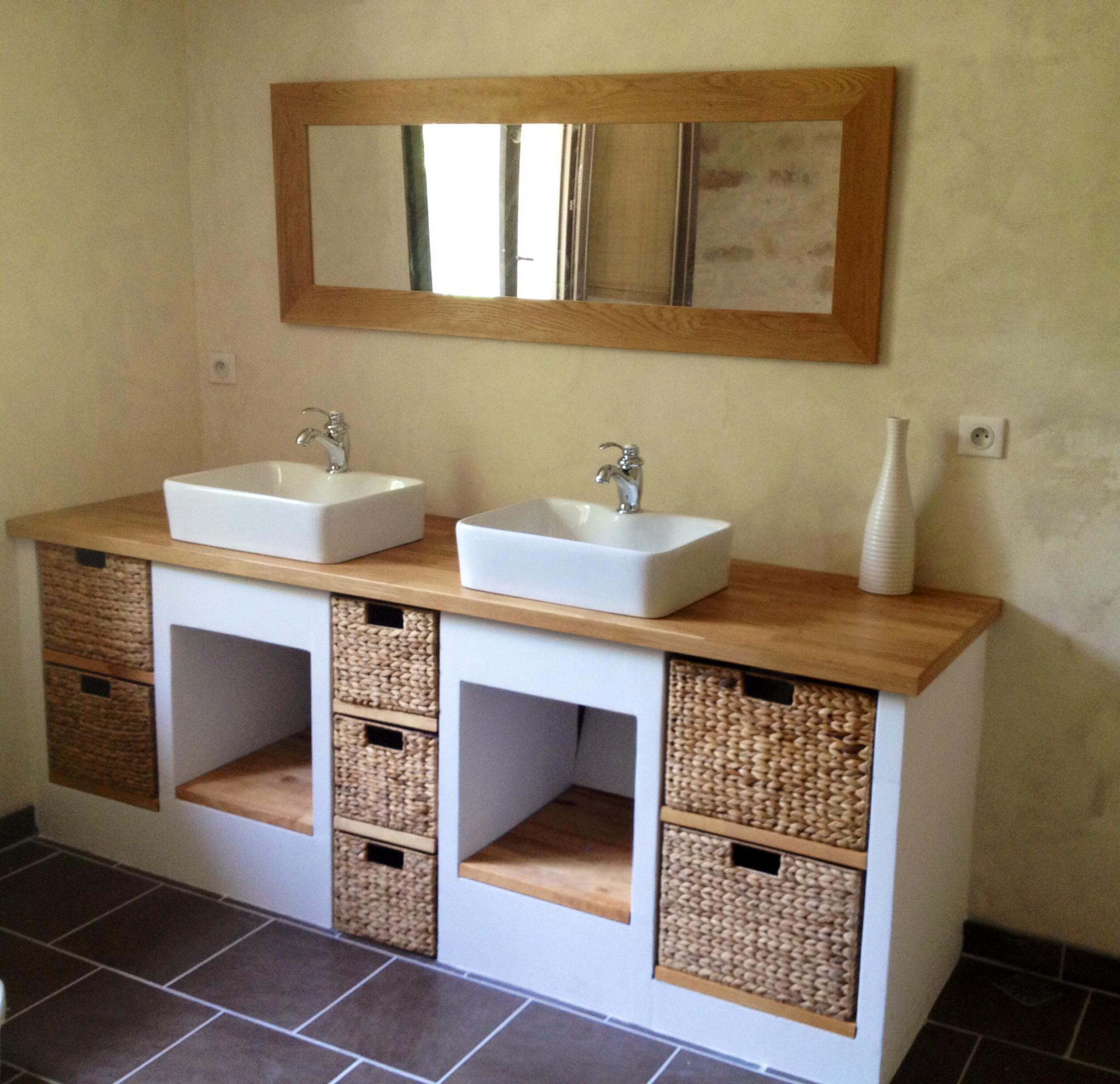 Мебель для ванной в стиле кантри