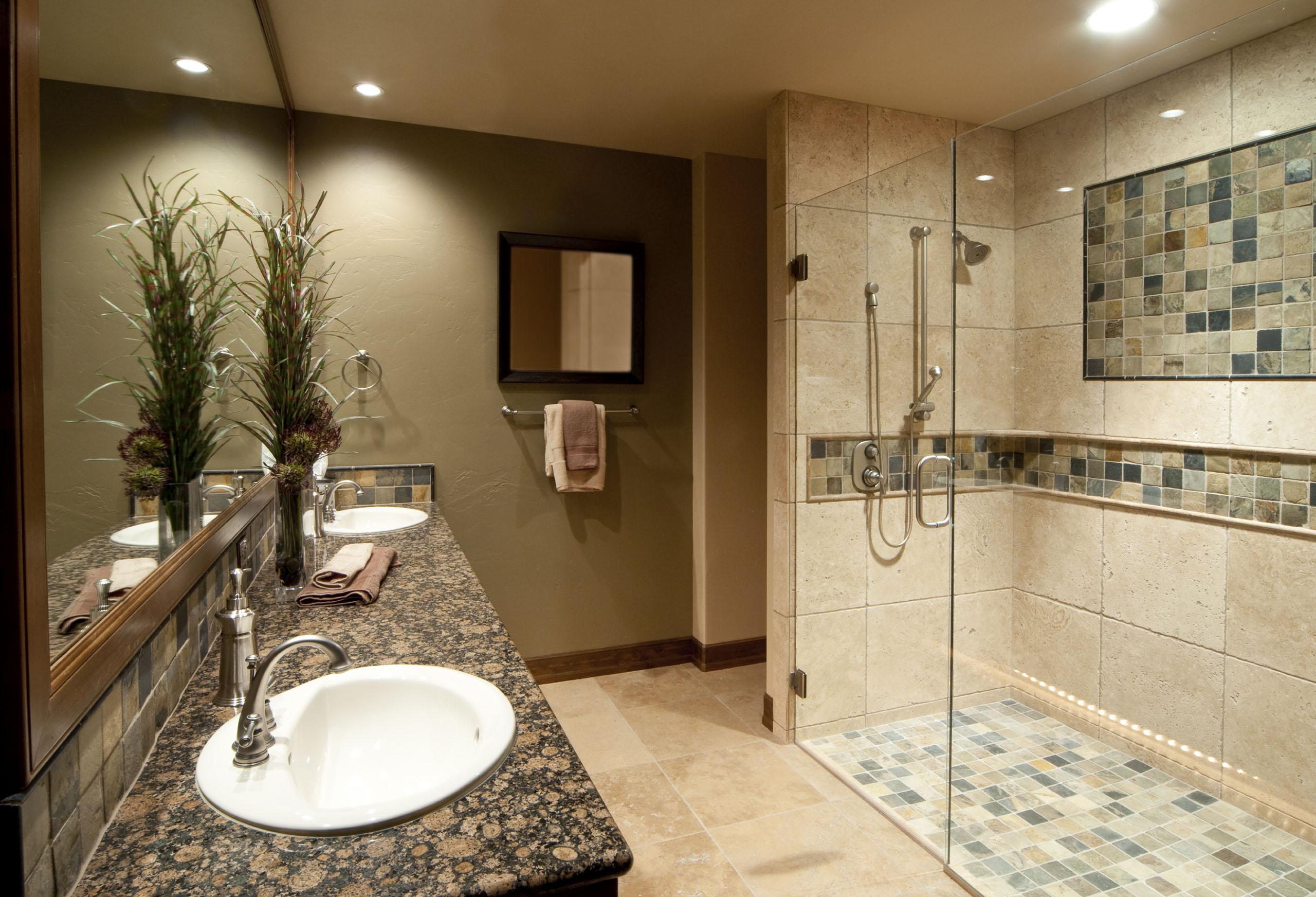 Ванная 4 кв м с керамической плиткой