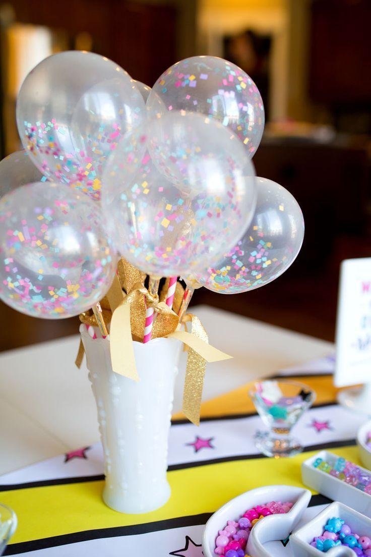 Композиция из шаров на детский день рождения
