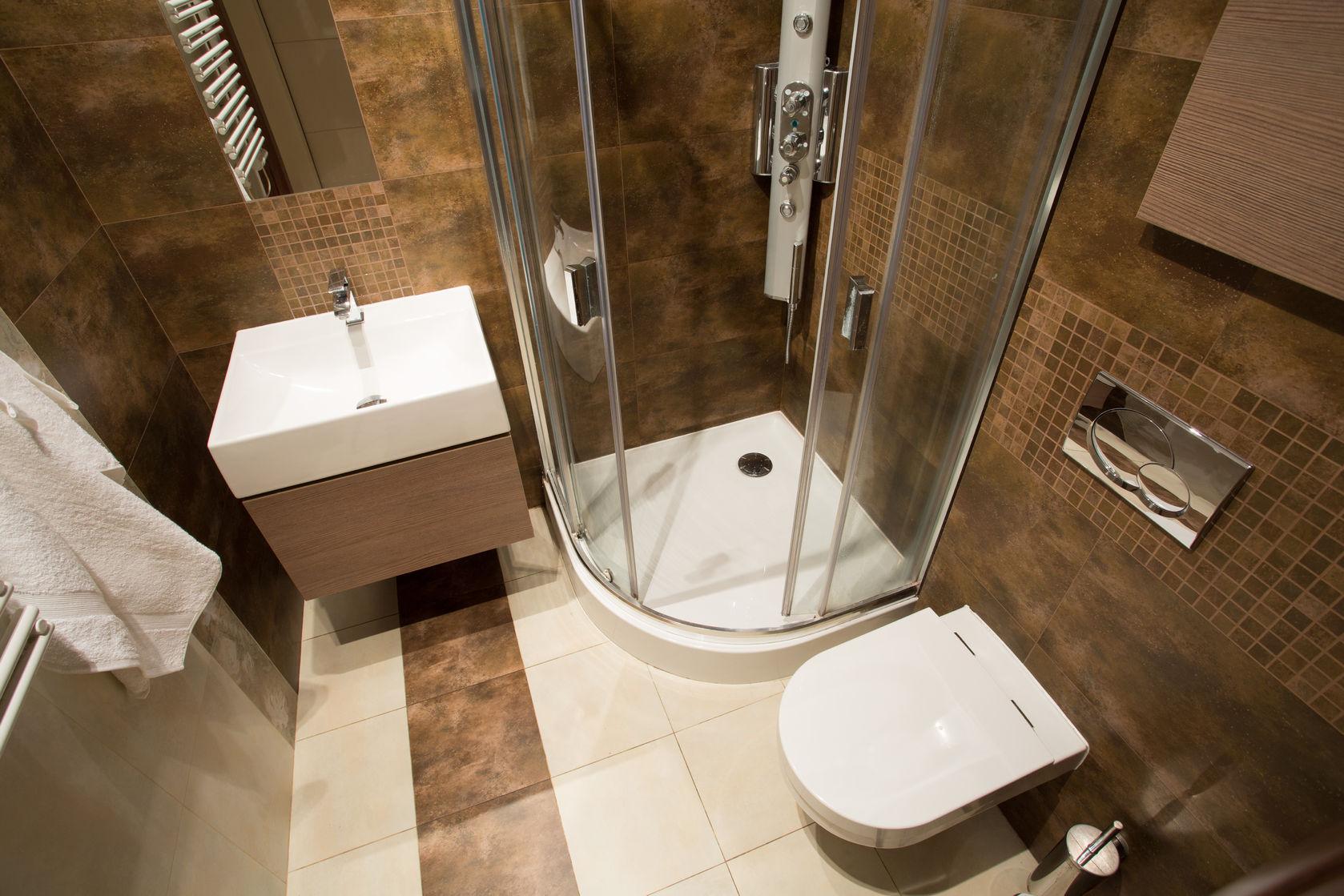 Маленькая ванная в современной квартире: интересные советы от ведущих дизайнеров (61 фото)
