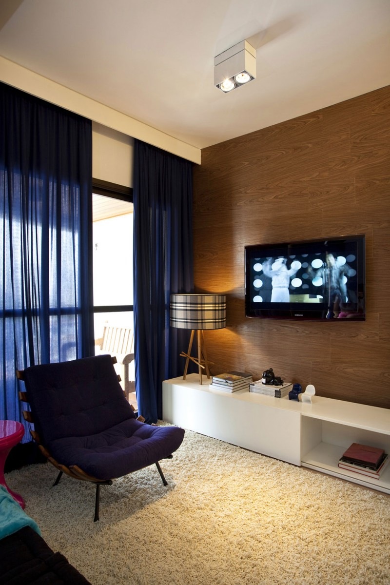 Дизайн однокомнатной квартиры с ковром