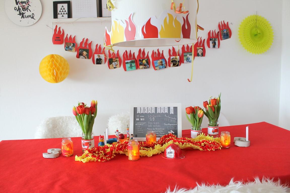 Оформление детского дня рождения в красном цвете