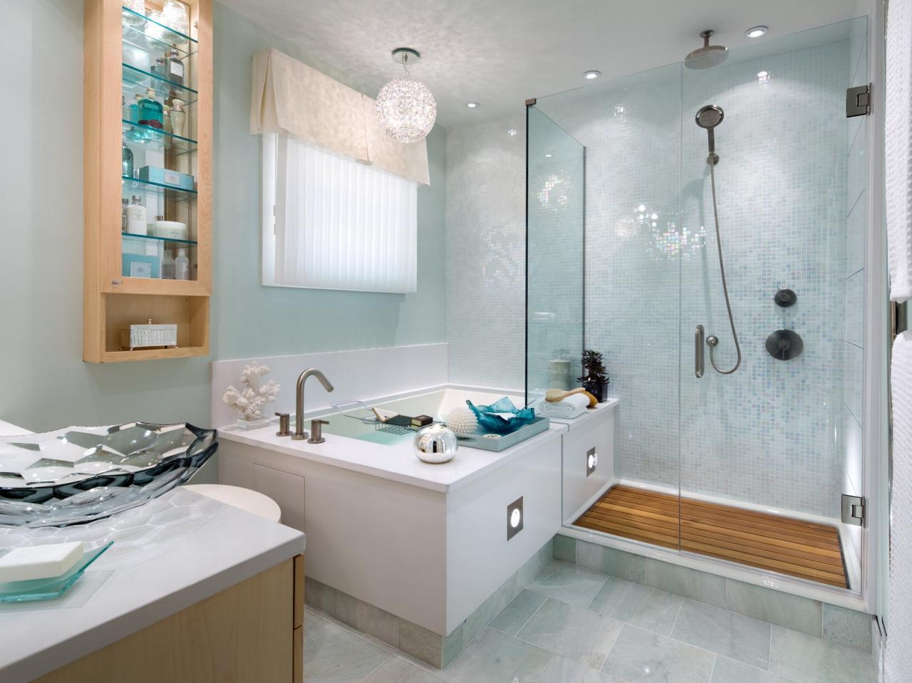 Угловая ванна квадратная