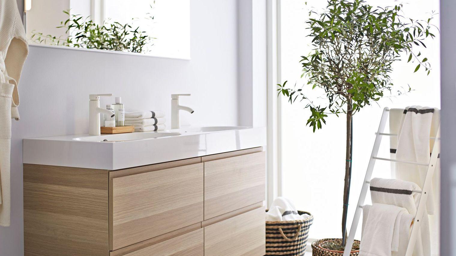 Мебель для ванной ламинированная