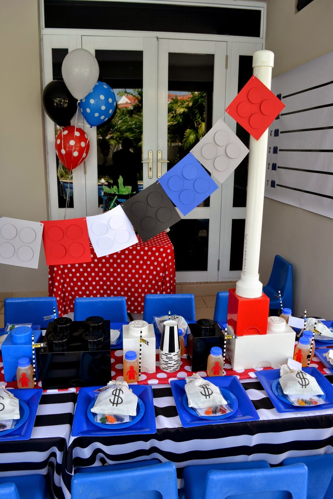 Оформление детского дня рождения в теме лего