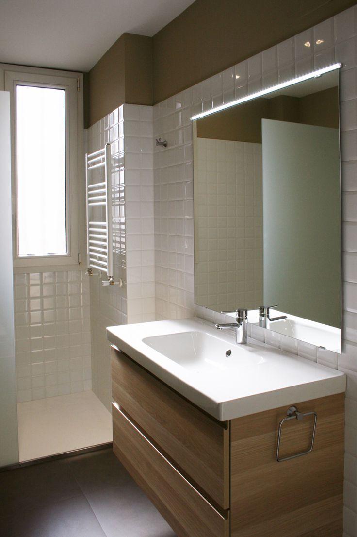 Зеркало в ванную со светодиодной лентой