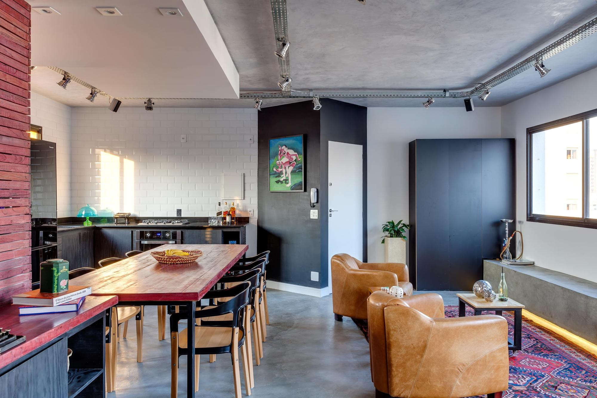 Дизайн однокомнатной квартиры лофт