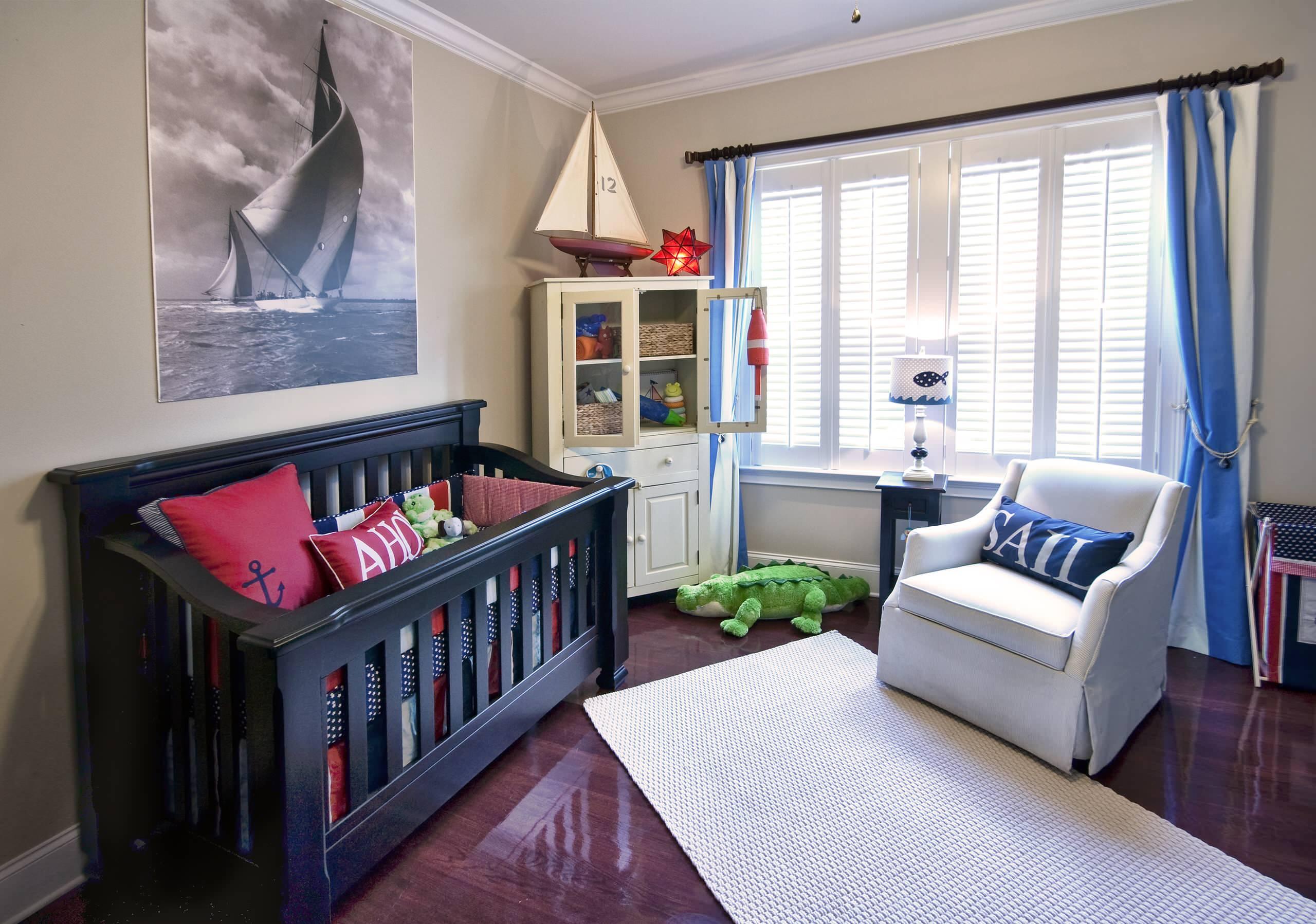 Детская в однокомнатной квартире для мальчика