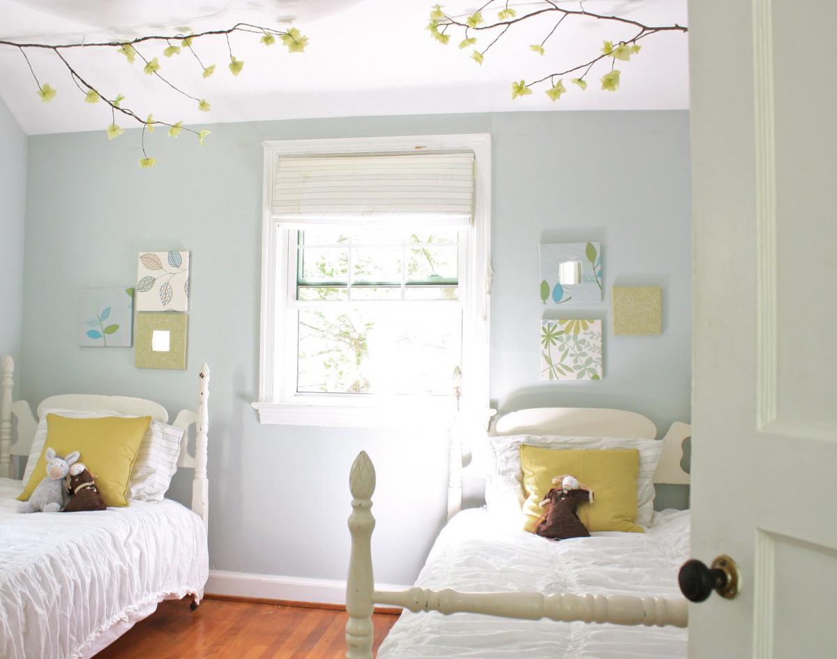 Детская комната в стиле прованс маленькая