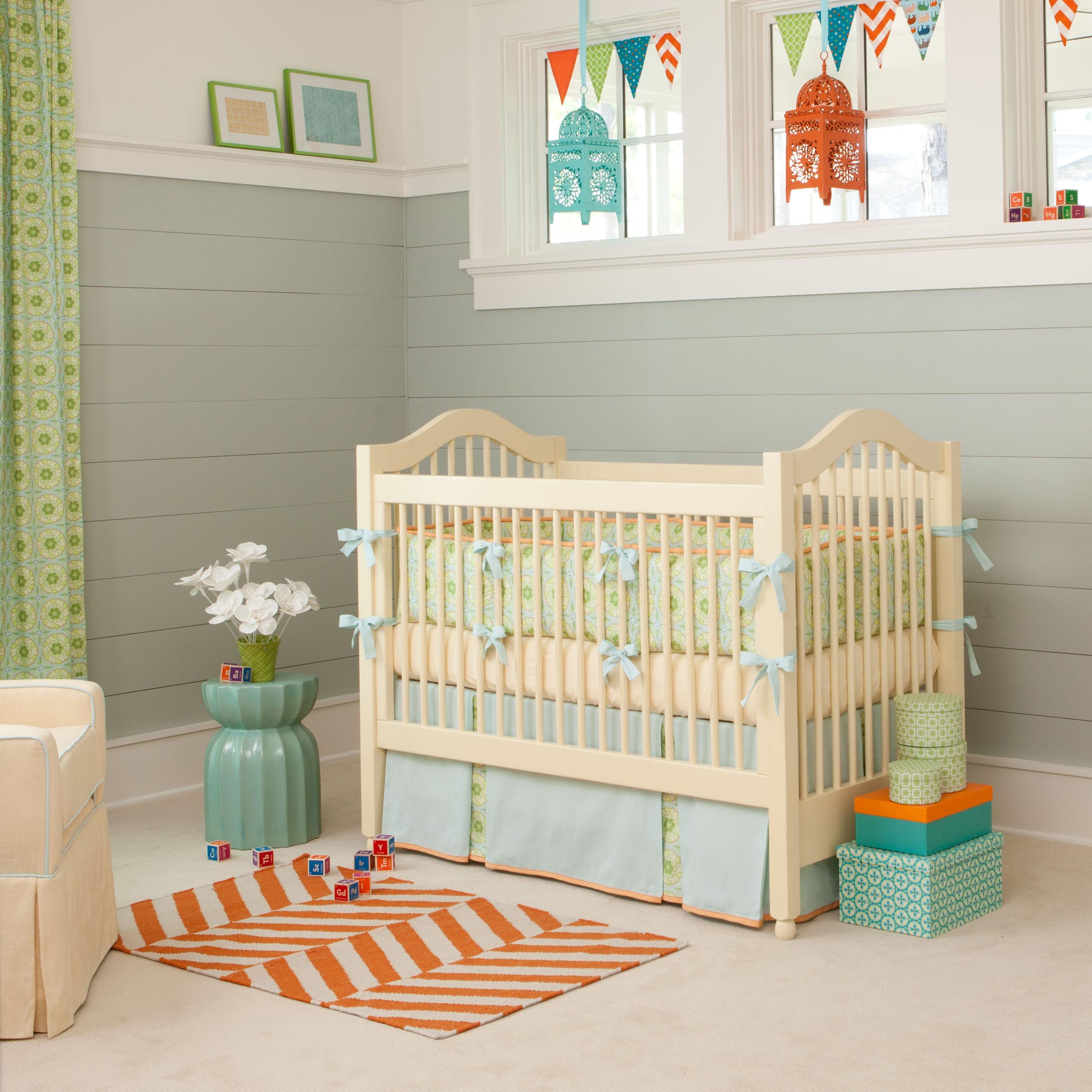 Детская комната в стиле прованс для маленького ребенка