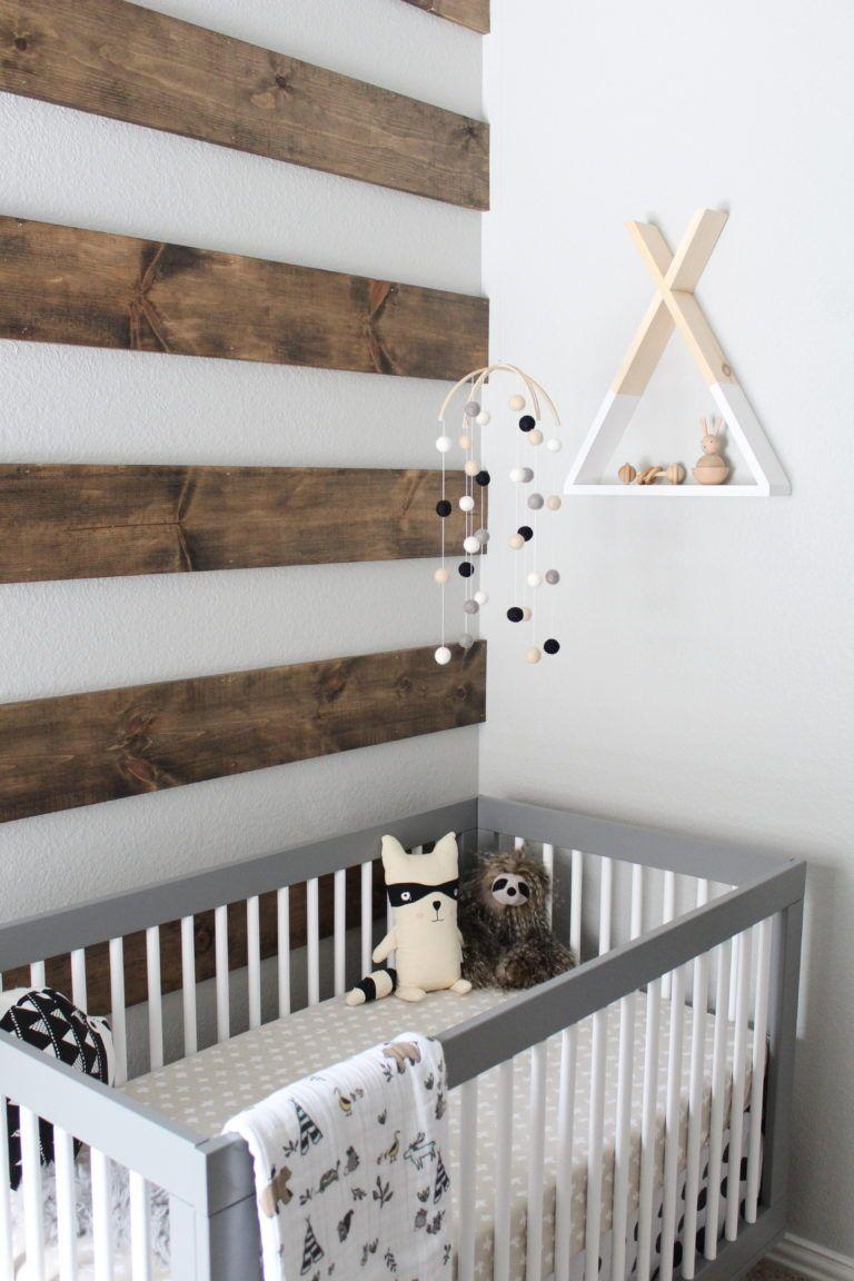 Детская комната в стиле прованс для малыша