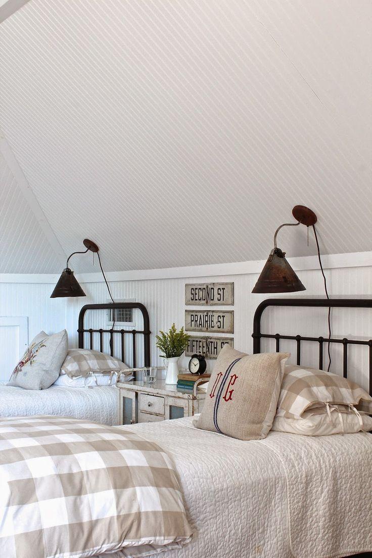 Детская комната в стиле прованс на мансарде