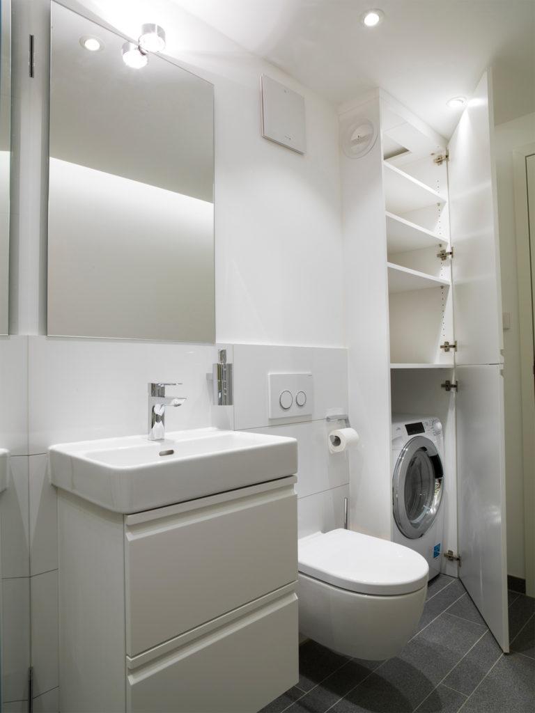 Идеи дизайна маленькой ванной со стиральной машинкой