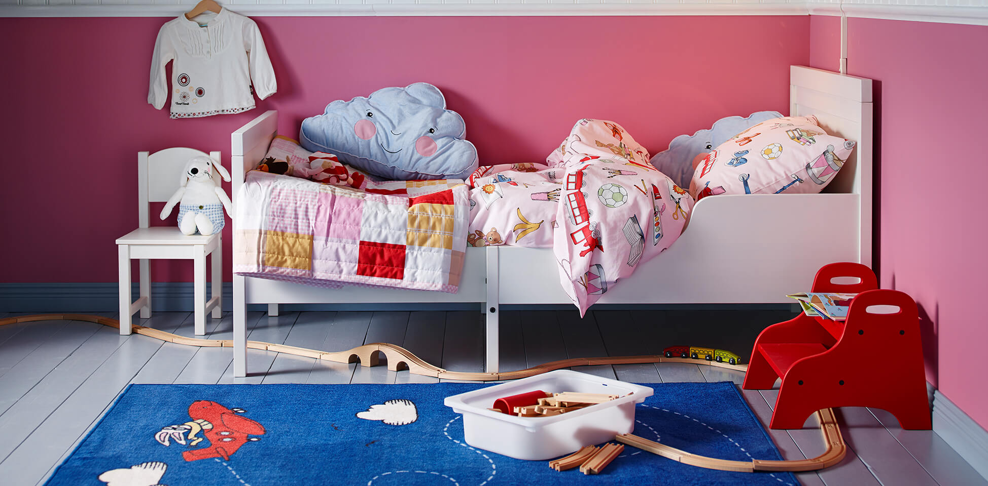 Детская комната для девочки из МДФ