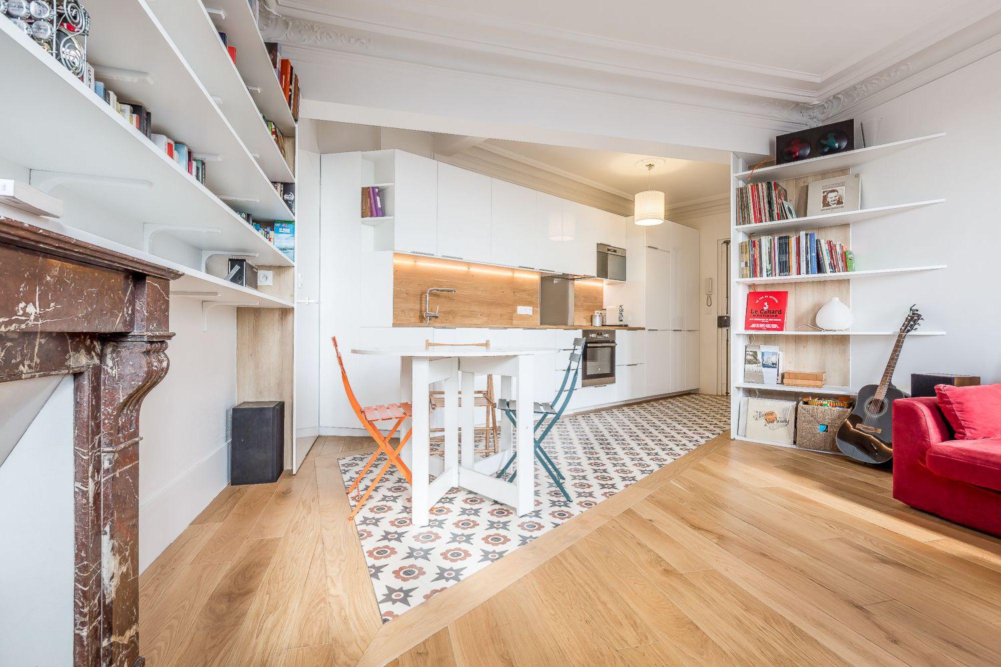 Стильный дизайн однокомнатной квартиры: секреты удачной планировки (57 фото)