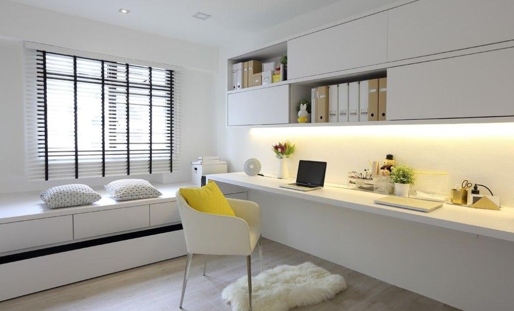 Детская в однокомнатной квартире в стиле минимализм