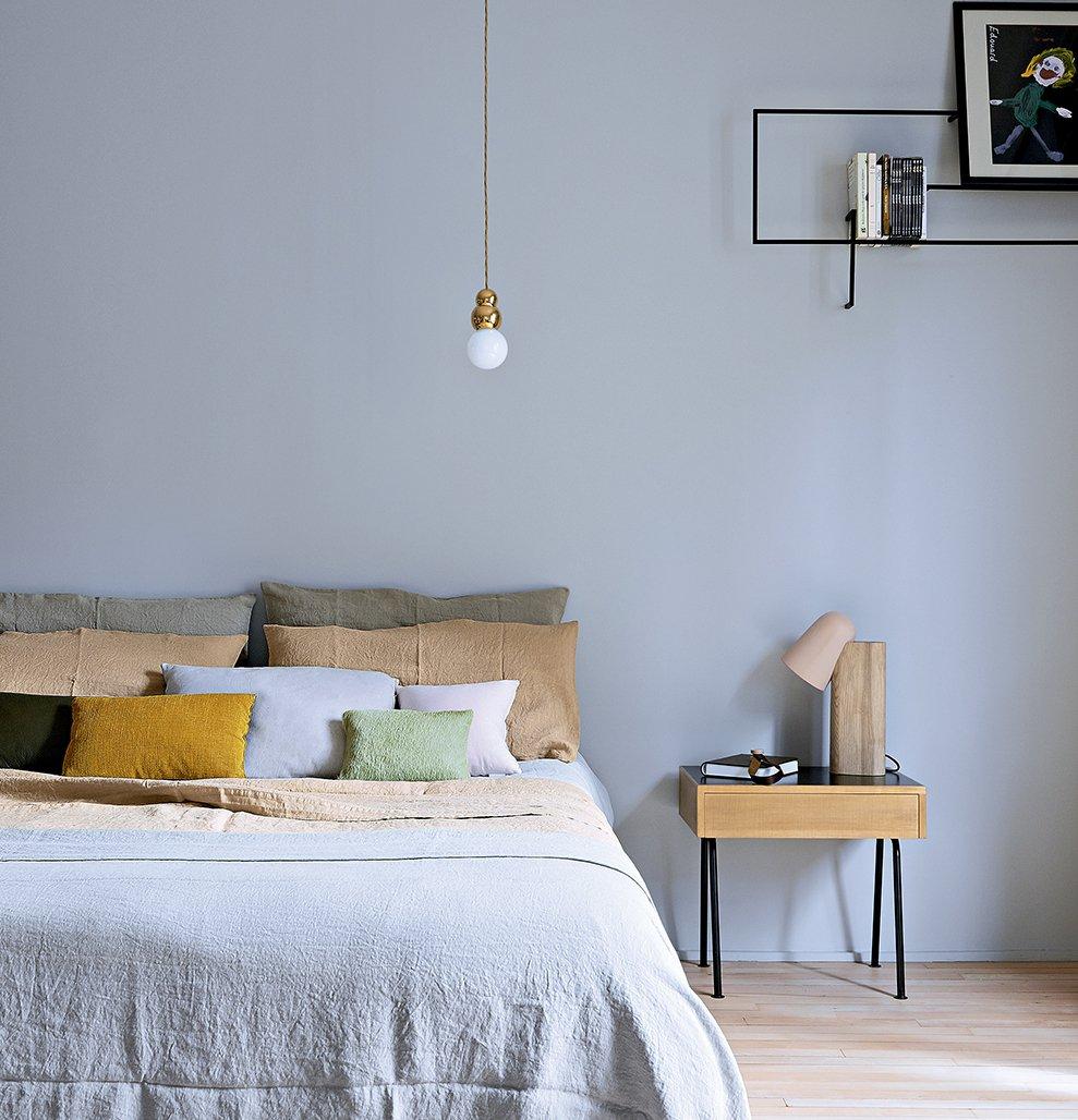 Маленькая спальня в стиле минимализм