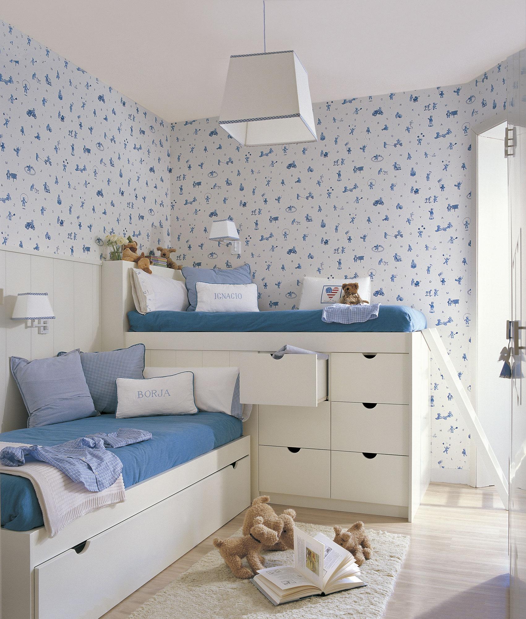 Детская комната для девочки с мишками