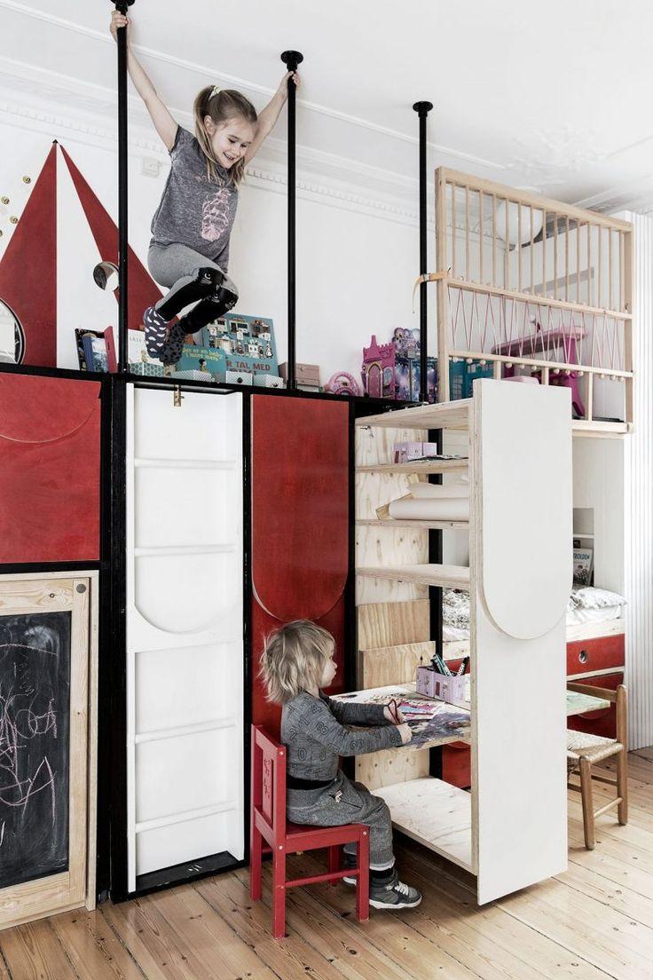 Детская многофункциональная в однокомнатной квартире