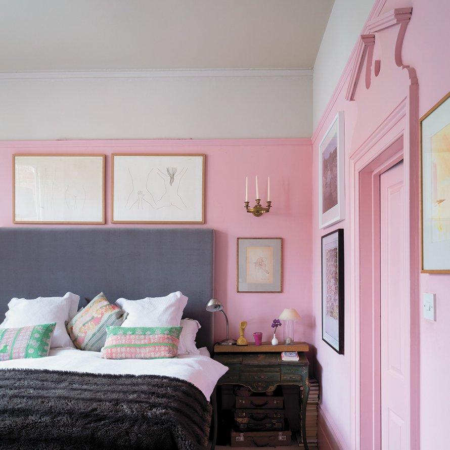 Маленькая спальня в стиле модерн