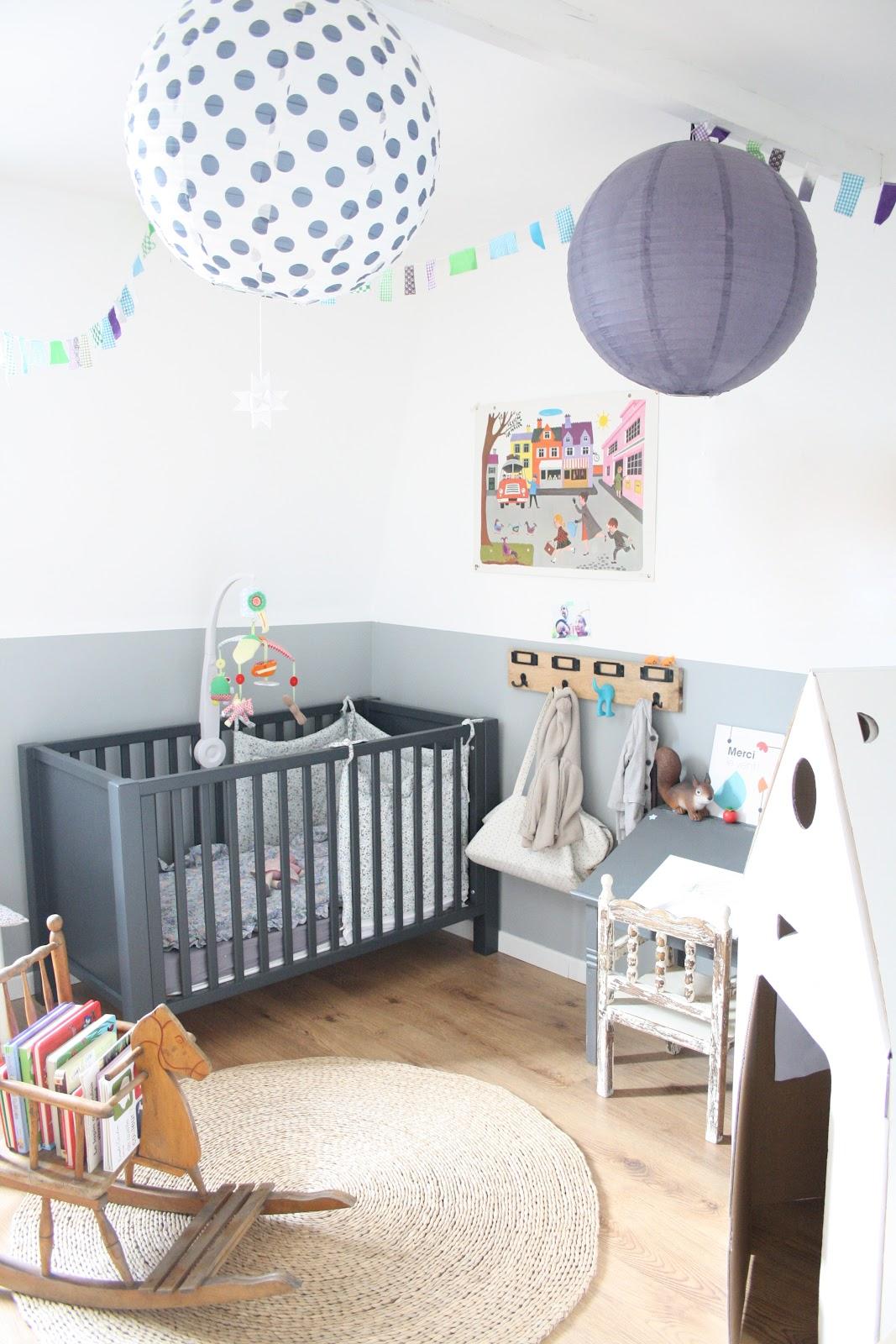 Детская комната для мальчика в стиле модерн