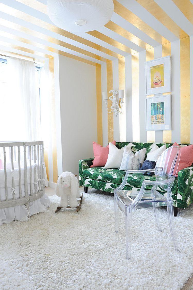 Детская в однокомнатной квартире в стиле модерн
