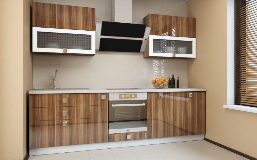 Замена фасадов кухни модерн