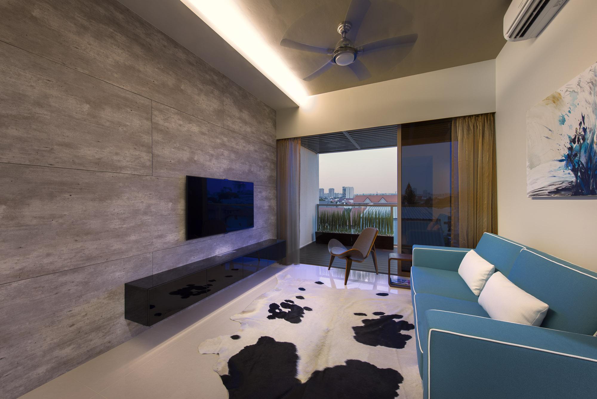 Дизайн однокомнатной квартиры модерн