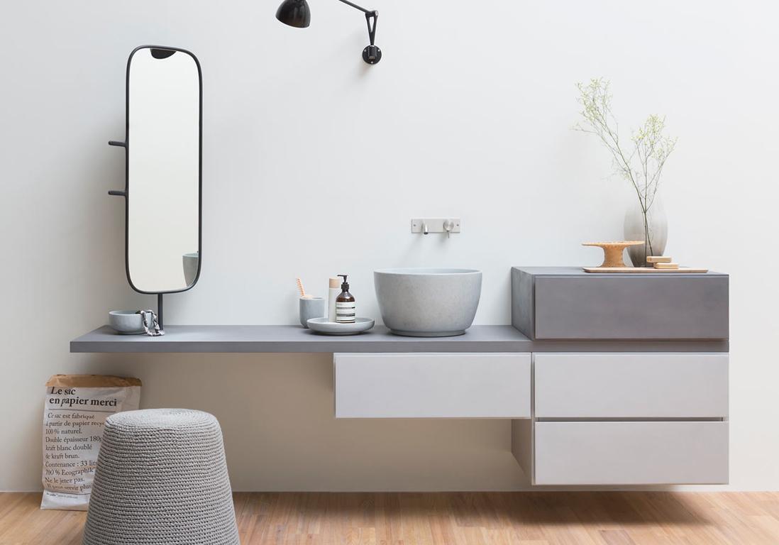 Мебель для ванной модульная