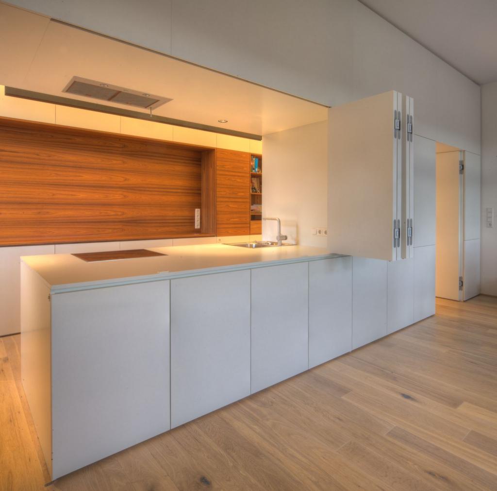 Интерьер квартиры студии с модульной мебелью