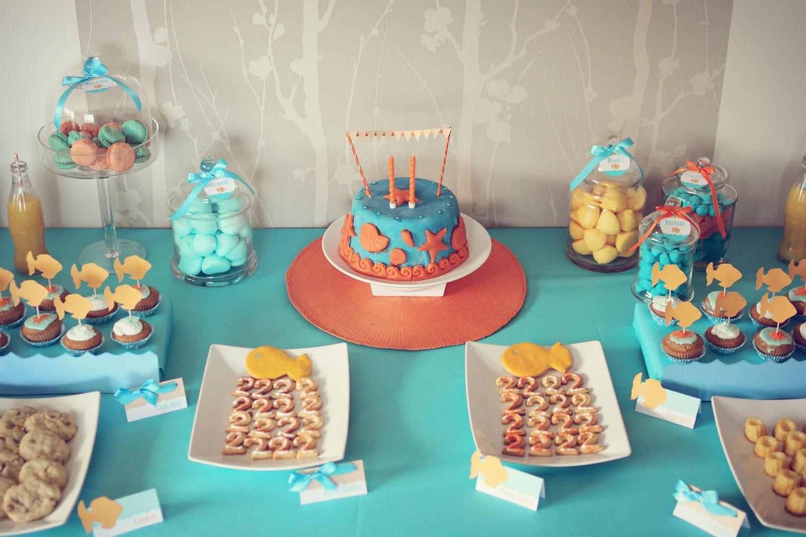 Оформление детского дня рождения в морском стиле