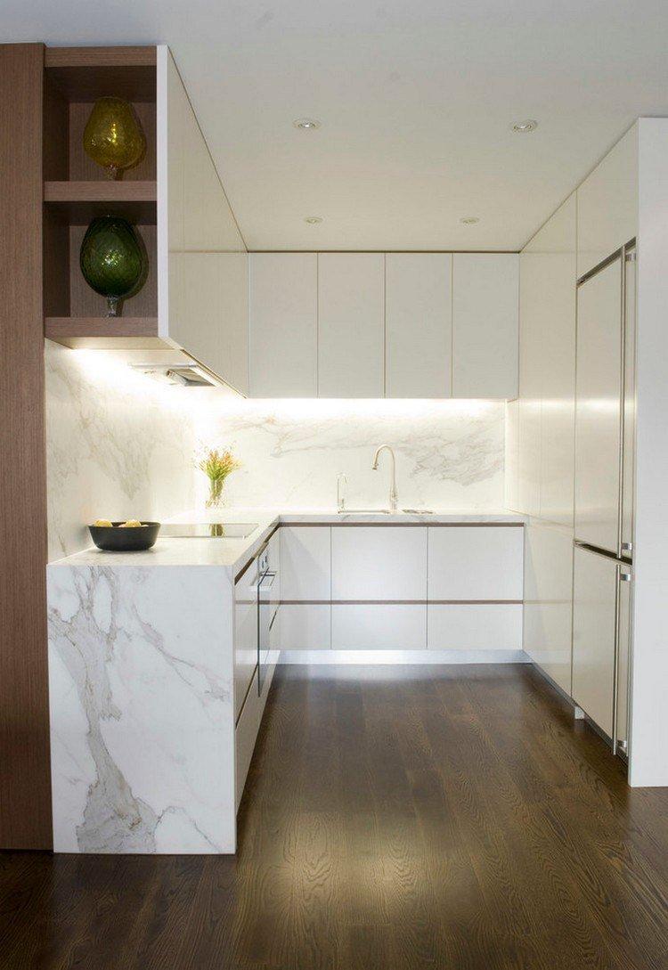 Кухня 9 кв м с мрамором
