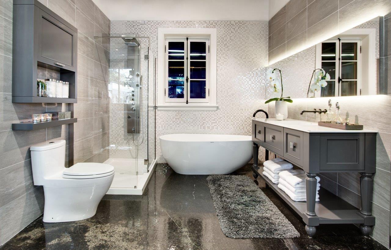 Мебель для ванной в стиле неоклассики