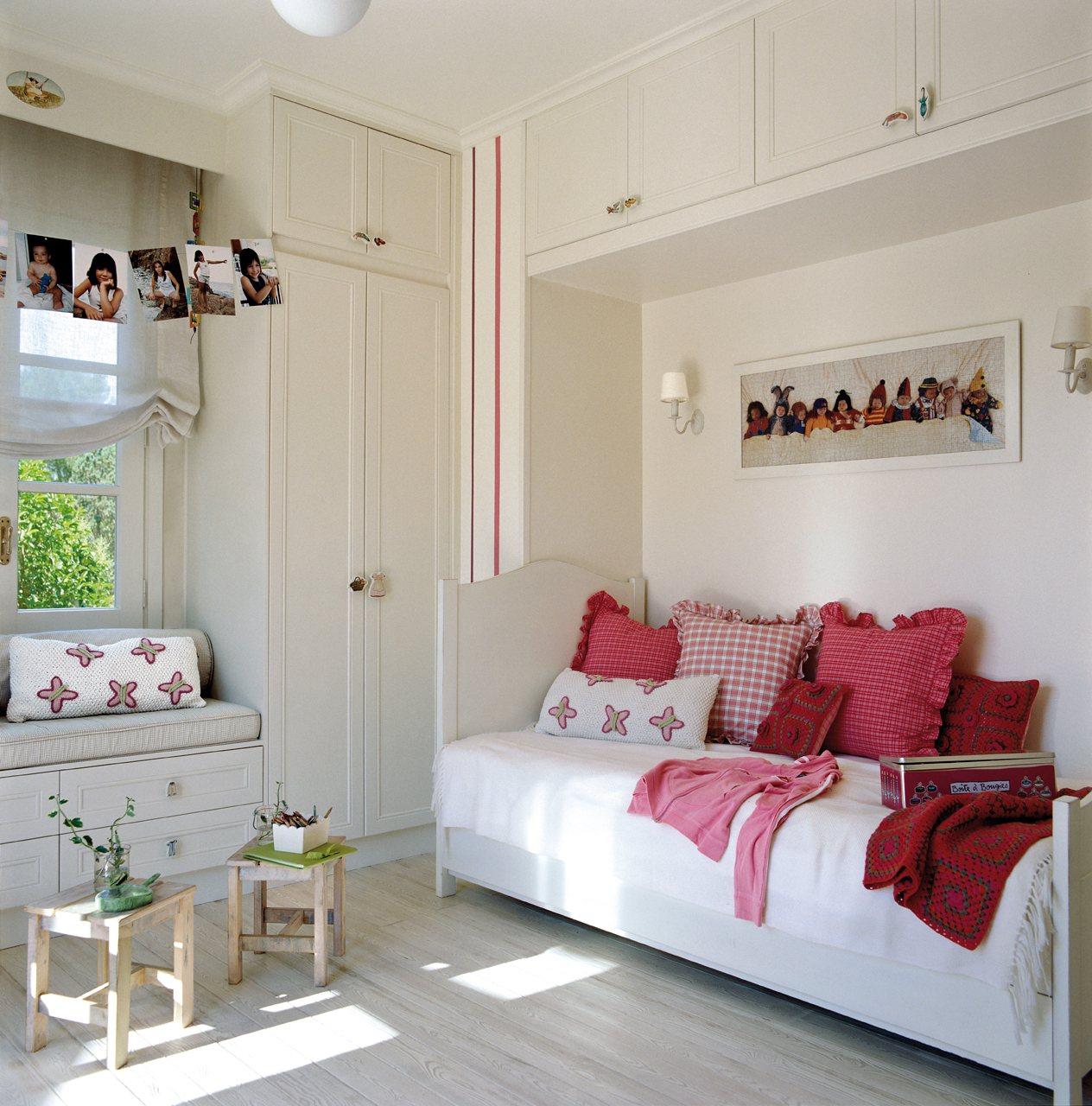 Детская комната для девочки с нишей