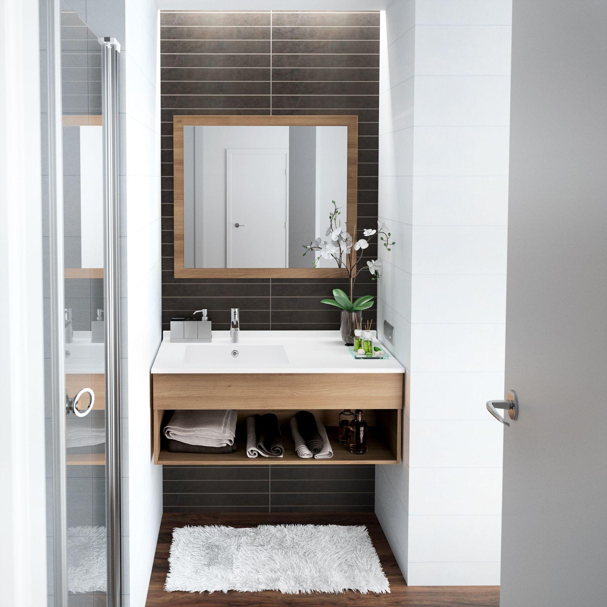 Идеи дизайна маленькой ванной с нишей