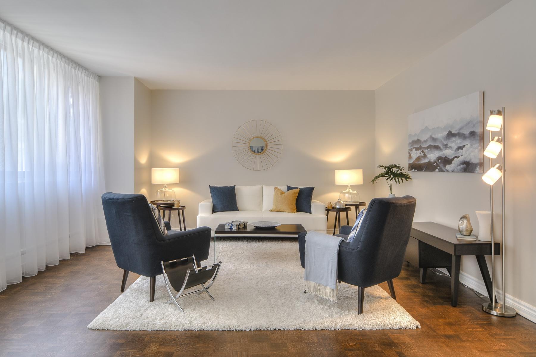 Дизайн и освещение однокомнатной квартиры
