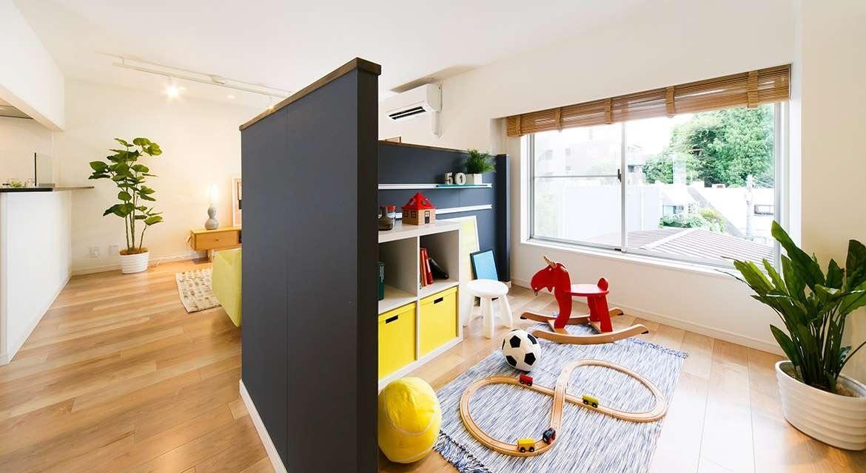 Детская в однокомнатной квартире: личное пространство для маленького непоседы (55 фото)
