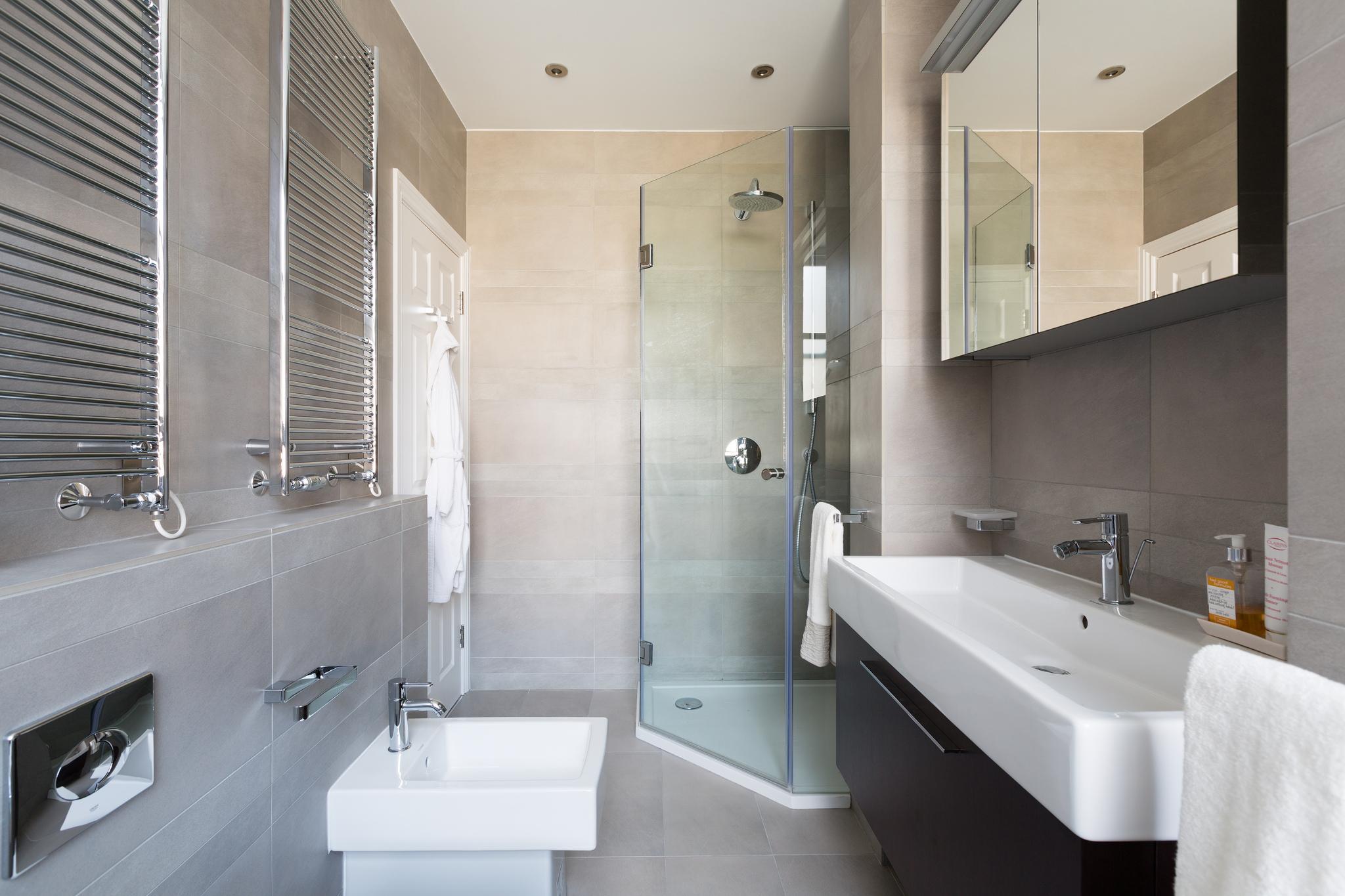 Ванная 4 кв м с отделкой