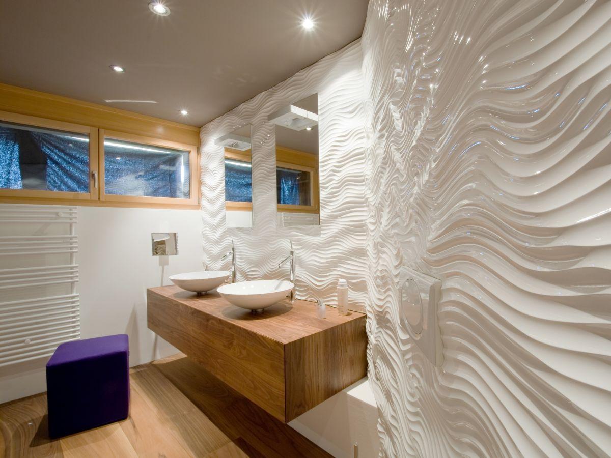 3d панели в совмещенной ванной комнате