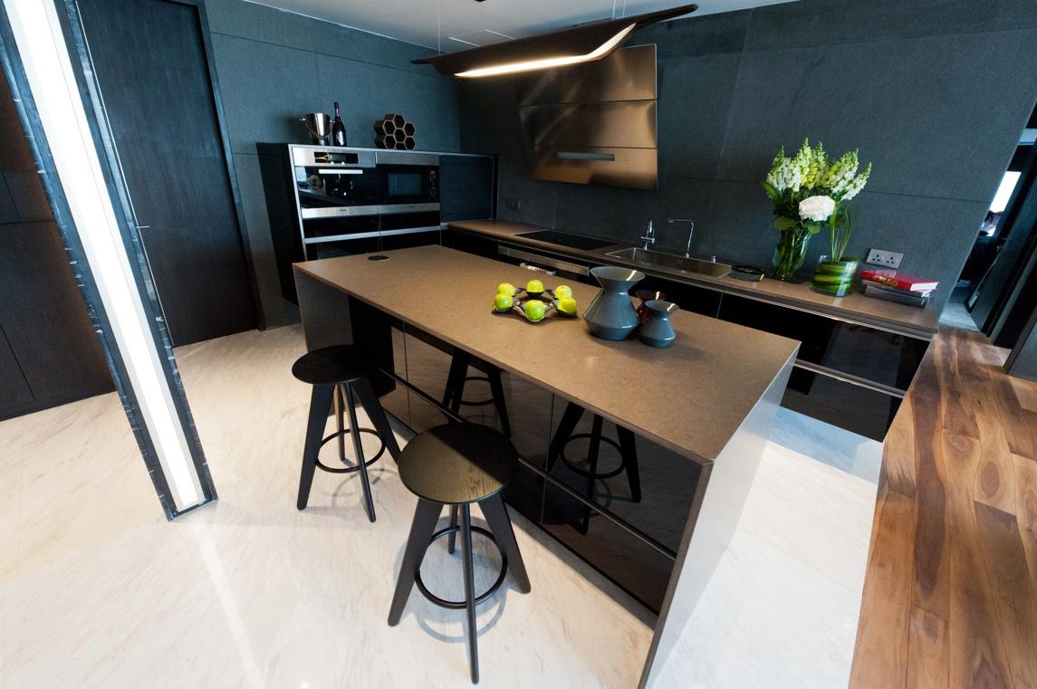 Кухня 9 кв м с панелями
