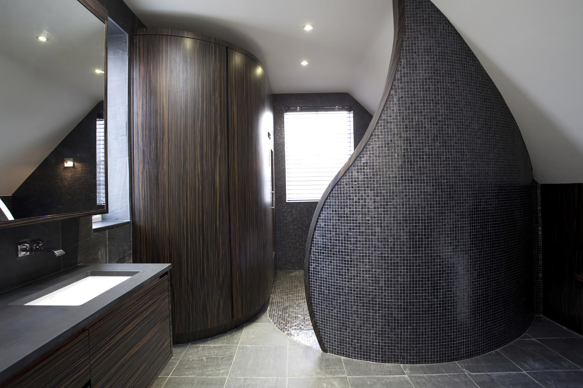 Перегородка в совмещенной ванной комнате