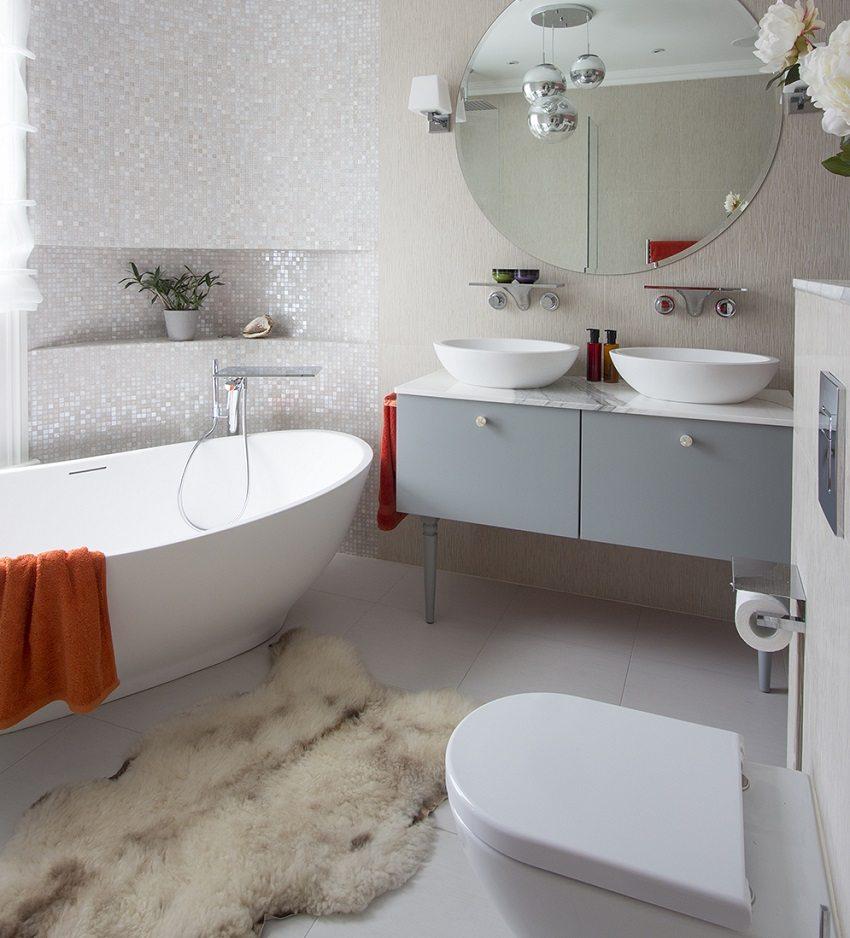 Перепланировка совмещенной ванной комнаты