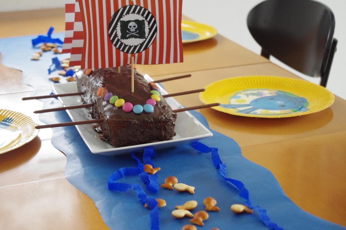 Оформление детского дня рождения в пиратской тематике