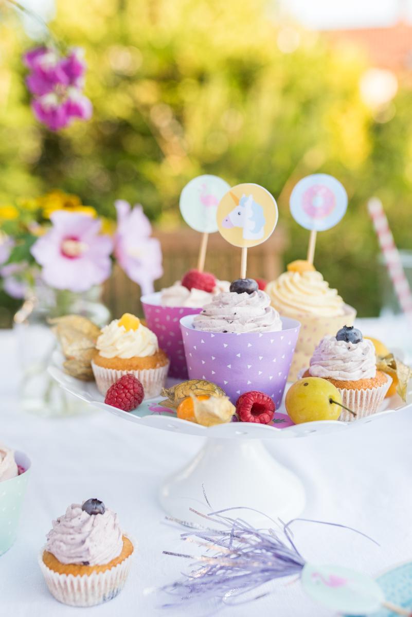 Оформление детского дня рождения пирожными