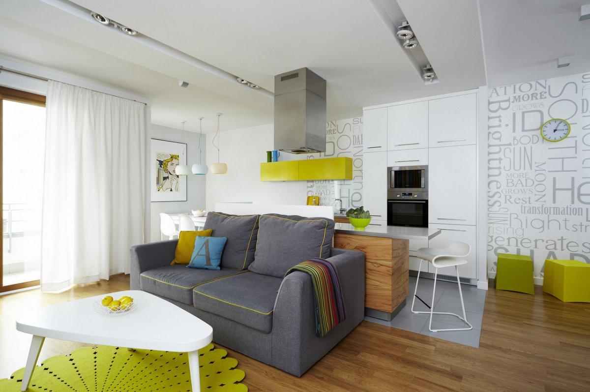 Дизайн однокомнатной квартиры планировка