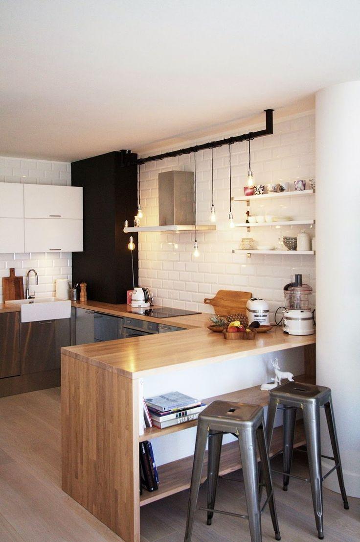 Кухня 9 кв м с полками